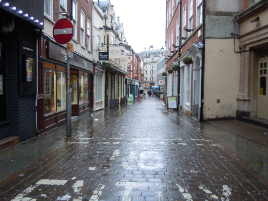 Nottingham Pedestrian Mall