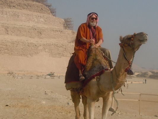 The money shot. Spouse on a camel.