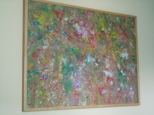 Artist - Sol Siegel. The painting resides in our bedroom