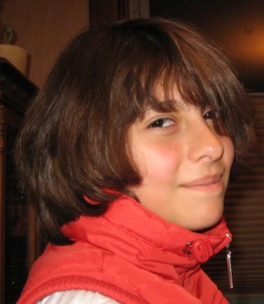 Juli a few years ago. Typical teen