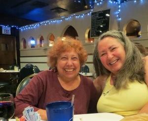 Sue and Teresa